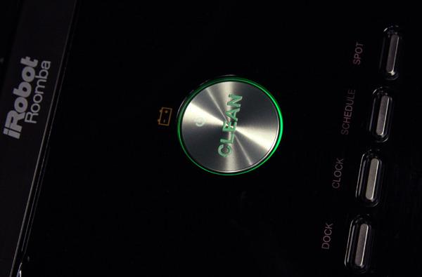 Панель управления iRobot Roomba 880