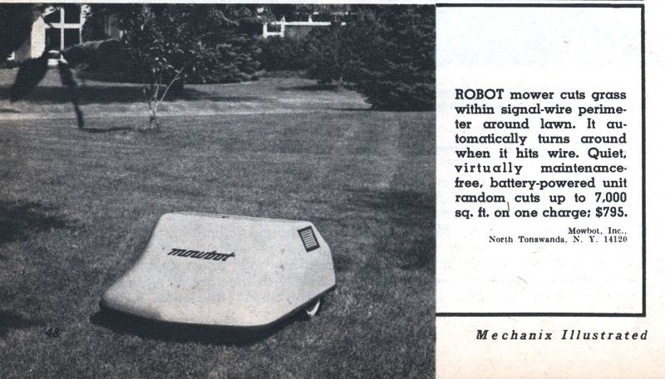 Робот-газонокосилка от MowBot Inc.
