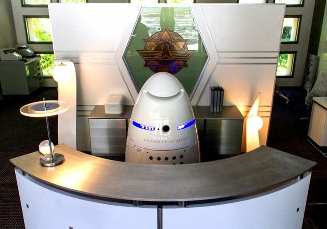 Робот-охранник K5